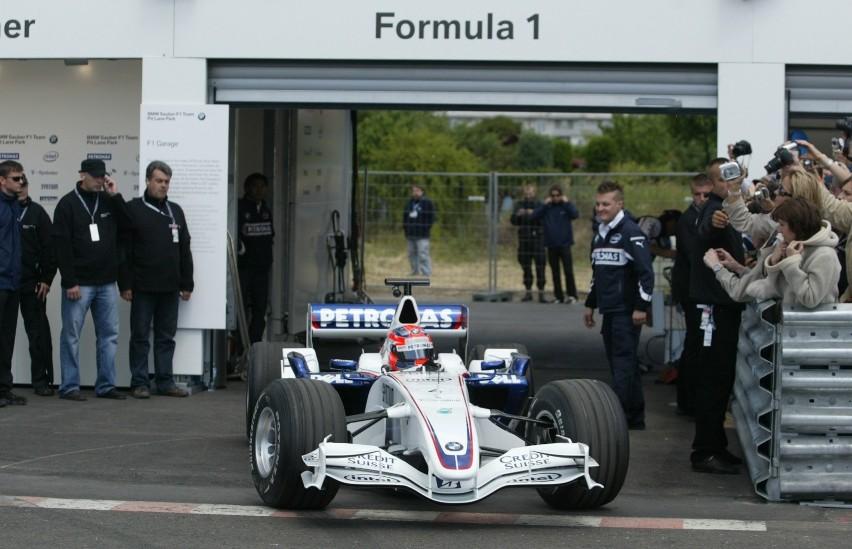 Robert Kubica karierę w Formule 1 zaczynał w teamie BMW...