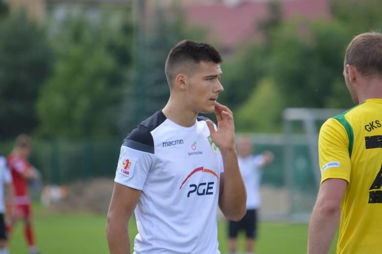Maciej Mas jesienią występował w GKS Bełchatów