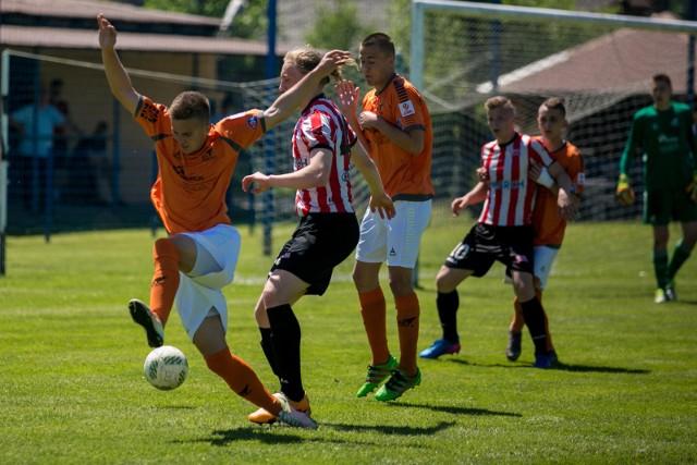 Centralna Liga Juniorów. Mecz Cracovia - AS Progres Kraków w Wołowicach