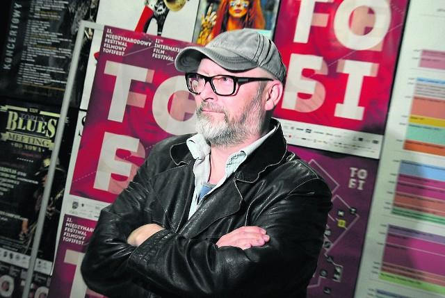 Reżyser Wojciech Smarzowski po raz kolejny będzie gościem festiwalu Tofifest w Toruniu.