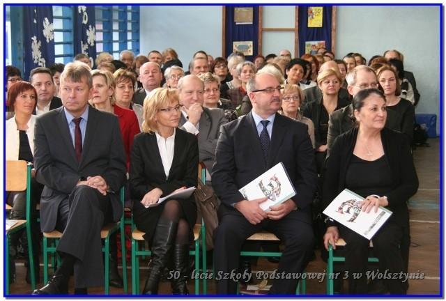 Władze Wolsztyna wzięły udział w jubileuszu 50-lecia Szkoły Podstawowej nr 3 w Wolsztynie