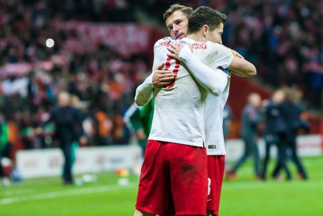 Grzegorz Krychowiak i Robert Lewandowski stanowią o ofensywnej sile naszej piłkarskiej reprezentacji