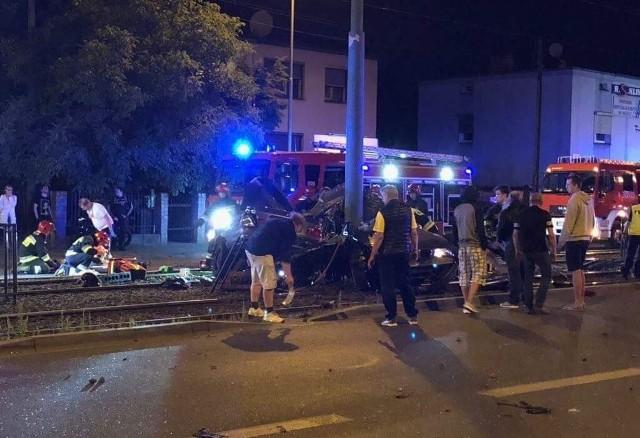Do wypadku doszło w nocy z 12 na 13 czerwca.