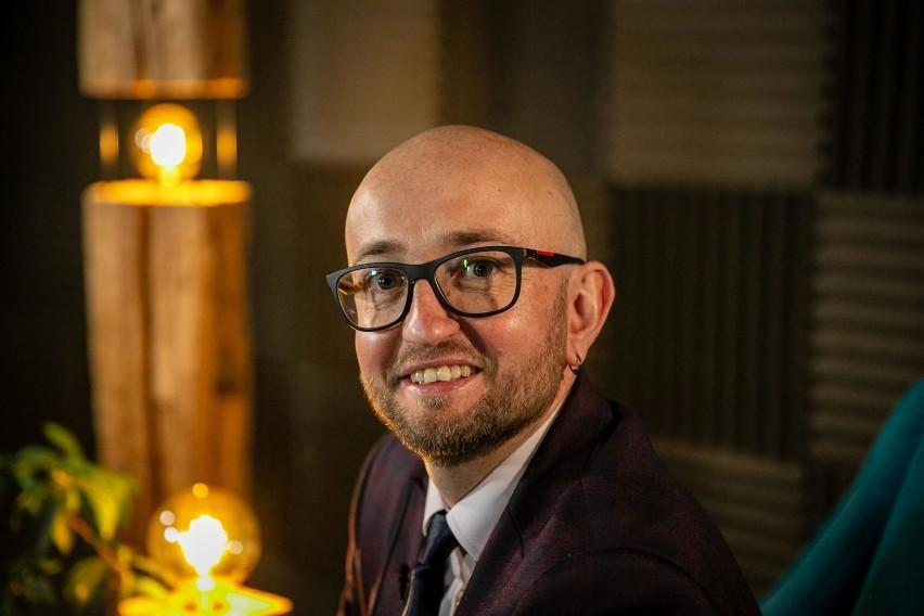 Łukasz Kierus, szef firmy Glosel, która wygrała kategorię...