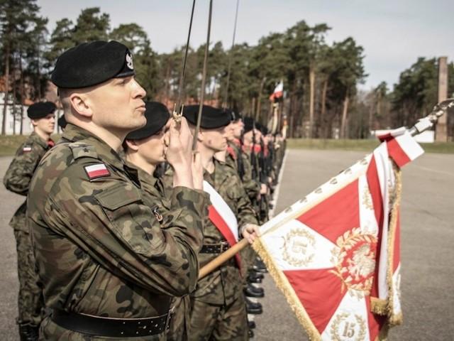 Żołnierze 15 batalionu Ułanów Poznańskich świętowali Dni Ułana.