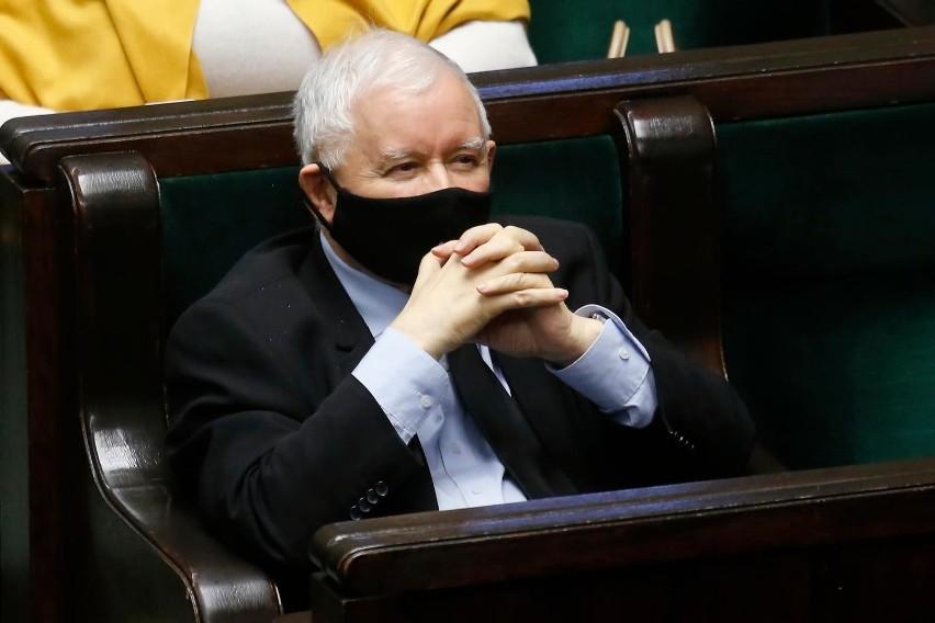 Jarosław Kaczyński ukarany naganą przez komisję etyki...