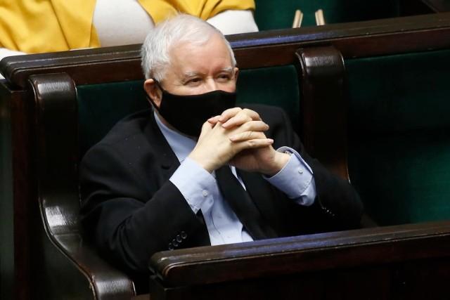 Jarosław Kaczyński ukarany naganą przez komisję etyki poselskiej. Chodzi o słowa z października po wyroku TK ws. aborcji i fali protestów