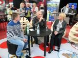 Karol Strasburger na targach Agrotravel w Kielcach: - Przetestuję Wasze stoki