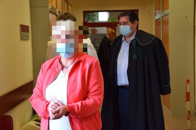 Proces Lidii K. i czwórki pozostałych oskarżonych rozpoczął się dziś (5.08) przed Sądem Rejonowym w Opolu. Na zdjęciu Lidia K.