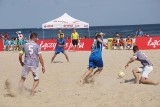 Ekipa KP Rapid Lublin spadła z ekstraklasy beach soccera. Zobacz zdjęcia