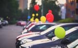 Tysiące balonów z helem we Wrocławiu. Co to za akcja? [ZDJĘCIA]