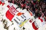 Skoki w Zakopanem2020. Tak na Wielkiej Krokwi dopingował proszowicki FanKlub Kamila Stocha [ZDJĘCIA]