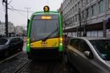MPK Poznań: Tramwaje stoją na Marcinkowskiego i ulicy Św. Marcin. Co się stało? Źle zaparkowane auto zablokowało przejazd