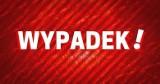 Augustów. Groźny wypadek na ul. Białostockiej. Zderzenie dwóch samochodów osobowych. Jedna osoba w szpitalu