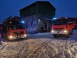 Pożar w Bledzewie. Wydobywający się dym zauważył strażak-ochotnik. Dom nie nadaje się jednak do mieszkania
