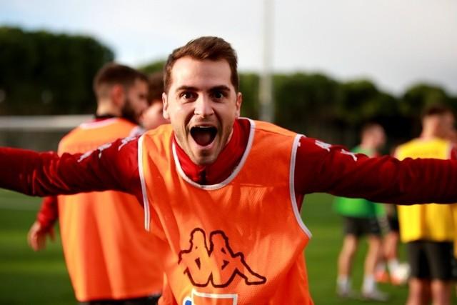 Jesus Imaz strzelił pierwszego gola dla Jagiellonii z rzutu karnego