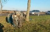 W wypadku koło Żagania ranne zostały cztery osoby. Policja apeluje o ostrożność na drogach