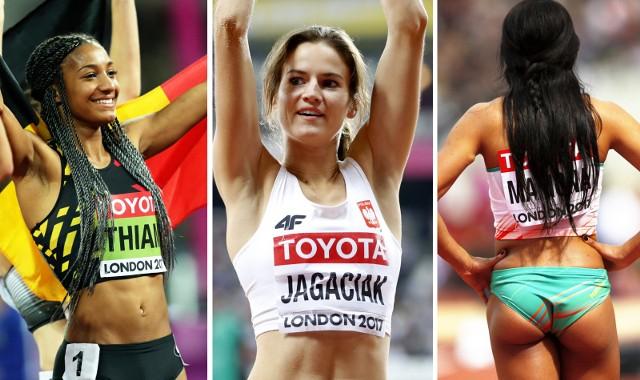 """W Londynie odbywają się mistrzostwa świata w lekkiej atletyce. Na tartanie trwa nie tylko zaciekła sportowa rywalizacja, ale również prawdziwy pokaz stylu. Oto przegląd zdjęć najpiękniejszych - naszym zdaniem - lekkoatletek, które biorą udział w zmaganiach na stadionie olimpijskim w Londynie. [Londyn 2017, mistrzostwa świata w lekkiej atletyce w Londynie, IAAF World Championships London 2017].>> Najnowsze i najciekawsze informacje z Bydgoszczy i regionu: www.expressbydgoski.plZobacz również:Trening w Akademii Sztuk Walki """"Black Panther"""" w Bydgoszczy"""