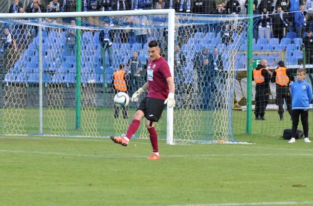 Mateusz Zając był zawodnikiem Hutnika przez półtora roku