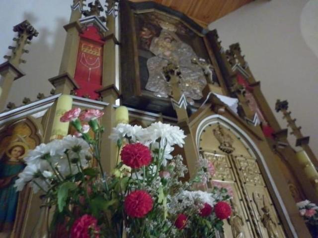 Bogaczów i matka Boża, która przybyła tutaj z Koropca
