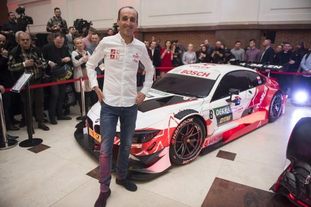 Kubica pokazał samochód, którym będzie się ścigał w DTM