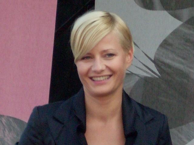 Małgorzata Kożuchowska na zlocie fanów M jak Miłość