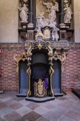 Bazylika Katedralna w Pelplinie – prace konserwatorskie przy konfesjonałach