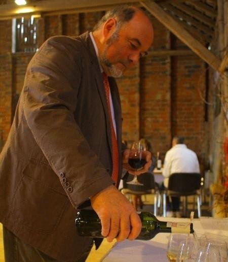 Winnicy Saint Vincent szefuje Jean Mulot, który w Borowie Wielkim bywa średnio raz na miesiąc.