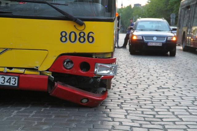 Wypadek na Kościuszki
