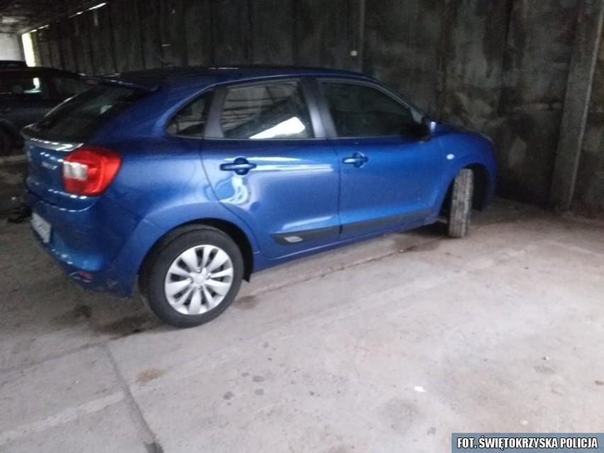 Odzyskany samochód trafił na policyjny parking