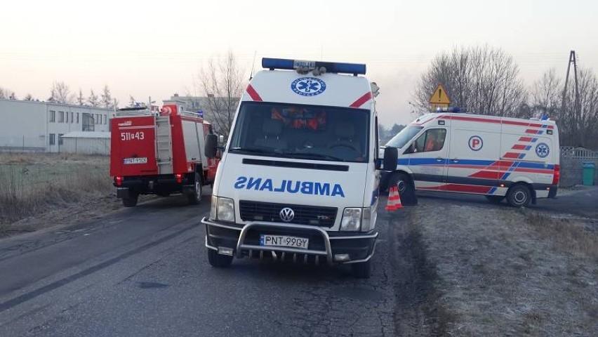 Wypadek w Opalenicy: Dwie osoby w szpitalu po zderzeniu BMW...