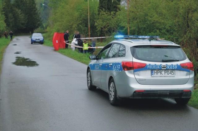 Do zabójstwa w Słonnej doszło w kwietniu 2019 r. Ciało Wojciecha P. znaleziono w przydrożnym rowie.