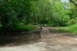 Kraków. Blisko końca prac w parku rzecznym Wilga. Efekt nie podoba się aktywistom, mówią o betonowaniu