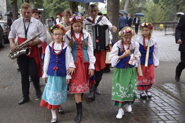 Rolnicy spotkali się w dworku prezydenta RP w Ciechocinku