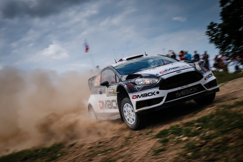 Ott Tanak i Raigo Molder w Fordzie Fiesta RS WRC