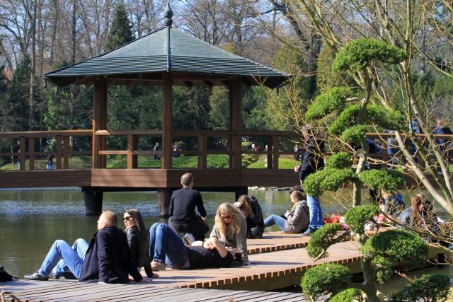 Ogród Japoński i Ogród Botaniczny we Wrocławiu już otwarte - 01.04.2017
