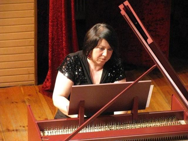 Pierwsza na klawesynie zagrała Maria Banaszkiewicz-Bryła.