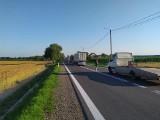 Kumiała. Wypadek na DK 8. Litewski kierowca busa potrącił 13-letniego rowerzystę