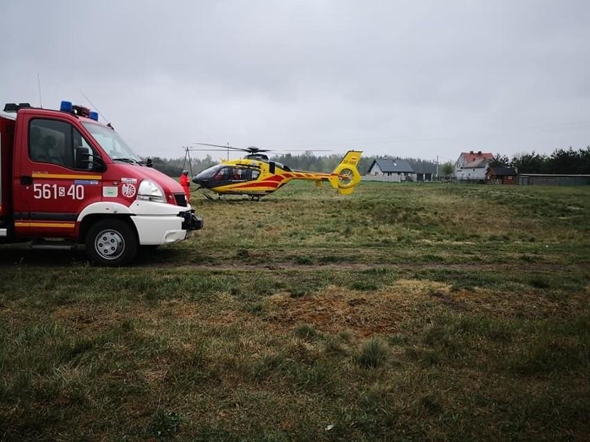 Tragiczny wypadek rolnika w Budziskach. Maszyna rolnicza wciągnęła  człowieka. Rolnik zginął   Dziennik Zachodni