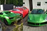 Policjanci ustalili, kto ukradł w wakacje w Mielnie zielone Ferrari warte milion złotych [ZDJĘCIA, WIDEO]