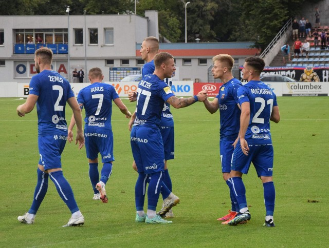 Odra Opole wygrała z Chrobrym Głogów po golu Krzysztofa Janusa z rzutu karnego