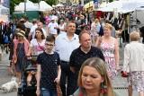 Ogromne zainteresowanie Świętem Kielc. Tłumy ludzi, mnóstwo pokazów i występów (ZDJĘCIA)