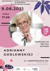 Recital Adrianny Godlewskiej w Wypożyczalni Głównej WiMBP w Rzeszowie
