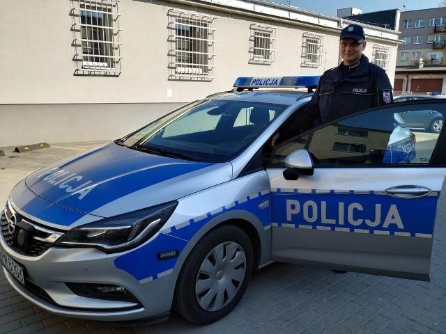 Mundurowy z Bielska Podlaskiego udowodnił, że policjantem jest się zawsze i wszędzie.