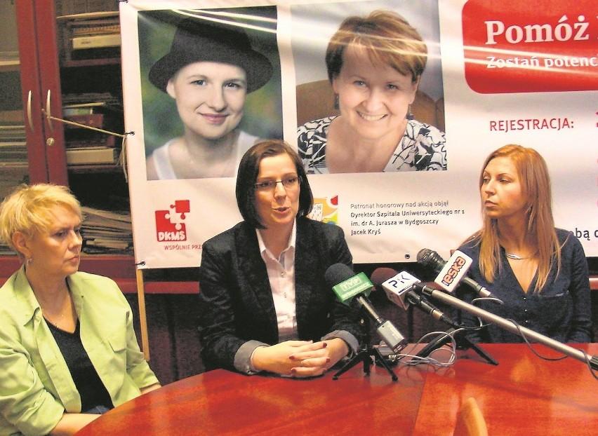 Do rejestracji zachęcają: Monika Krawczyk, przyjaciółka...