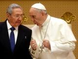 Watykan: Raul Castro spotkał się z papieżem Franciszkiem. Podziękował mu za mediację z USA [ZDJĘCIA]