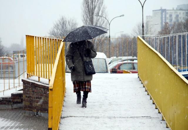 Śnieg w Lublinie