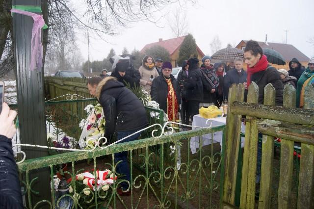 Mieszkańcy oddali hołd ofiarom pacyfikacji wsi Zaleszany