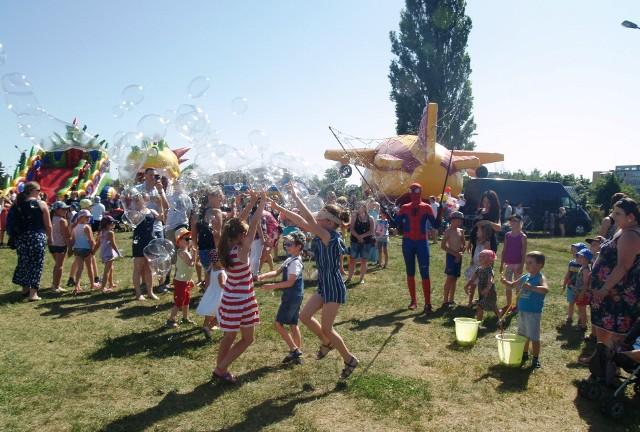 Festiwal baniek mydlanych w Ostrołęce, 30.06.2019
