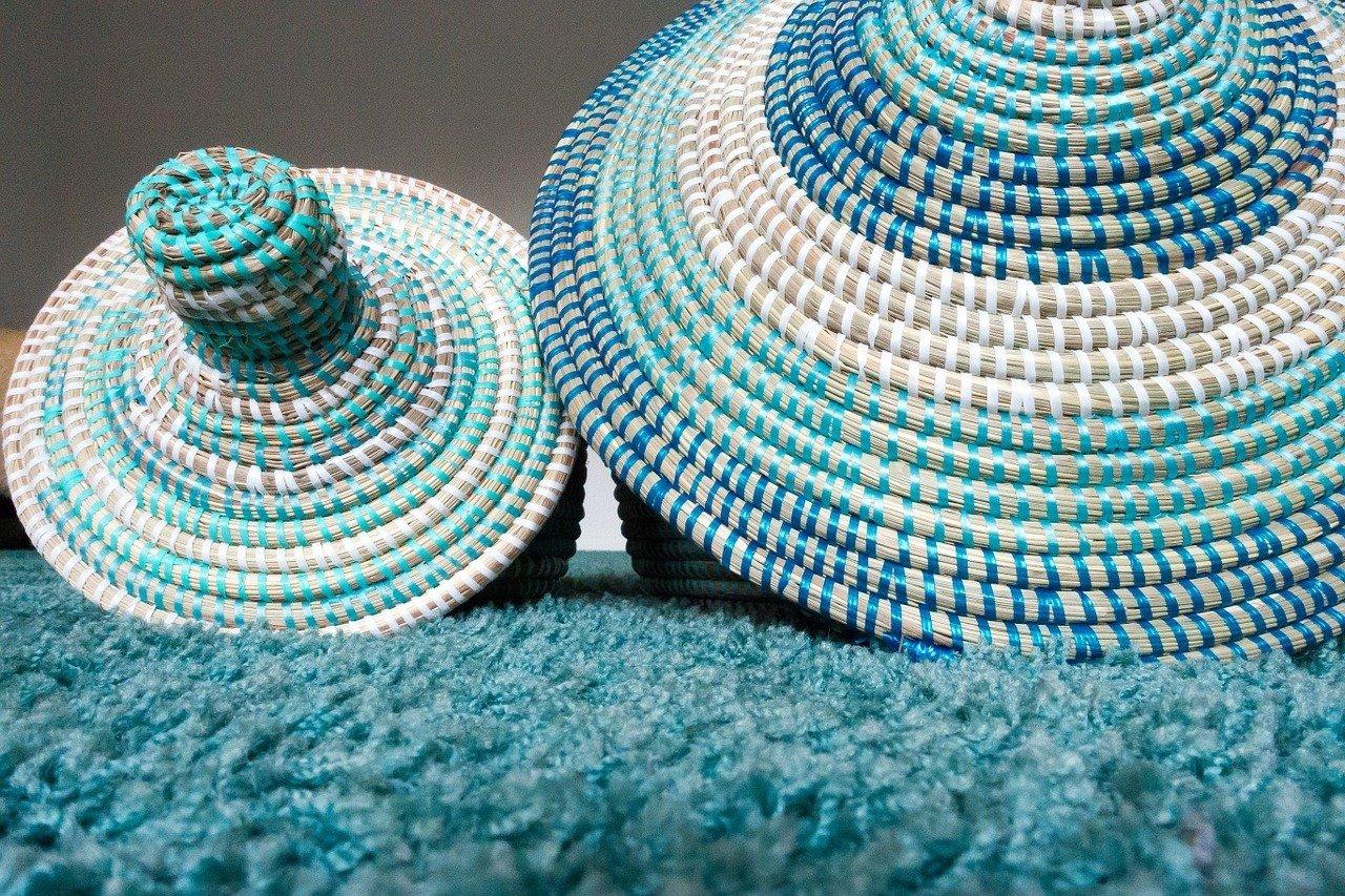 fc6916687c93b9 Ozdoby i przedmioty wykonane z papierowej wikliny mogą być naprawdę piękne.